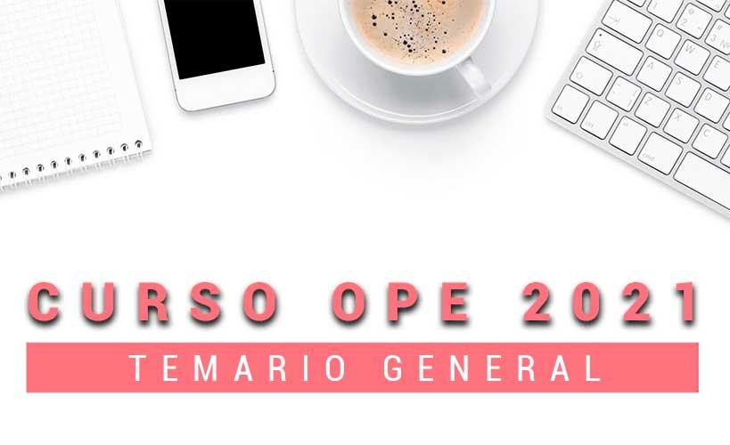Curso Ope temario general Matromás